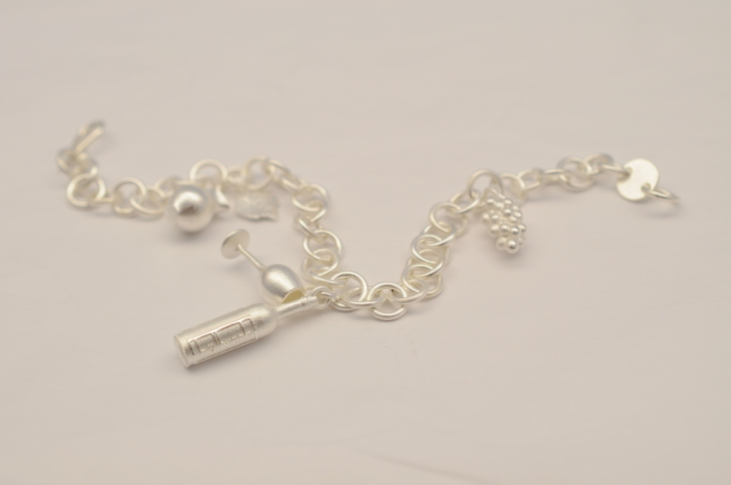 Charms | Fair-Trade-Silber Schmuck-Armband